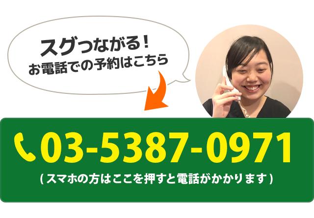電話番号:03-5387-0971
